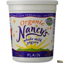 Organic Nancy Plain Whole Milk Yogurt - 2 lb