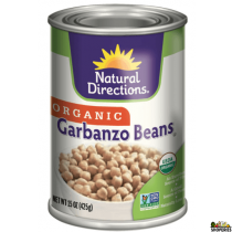 ND Organic Garbanzo Beans - 15 Oz