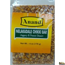 Anand Peanut Chikki (Nelakadle) Bar - 7 Oz