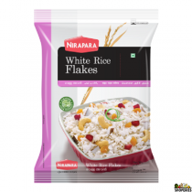 Nirapara Rice Flakes (White) - 500gm