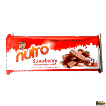Nutro Wafer Strawberry 2.8 Oz
