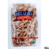 Dellalo Organic Shell Pasta - 16 Oz