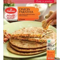 Haldirams Onion Paratha (Frozen) - 400 gms