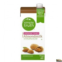 Simple truth organic almond milk