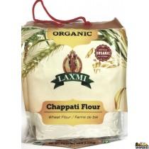 ORGANIC Laxmi Chappati (Wheat) Flour - 10 lb
