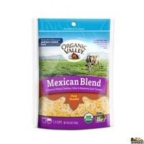 Organic Mexican Style Shredded cheese 6 Oz