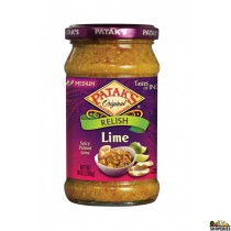 Patak Lime Pickle Hot 10 oz