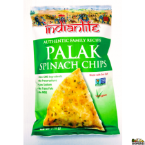 IndianLife Palak Spinach Chips 6 oz