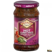 Patak Curry Paste Hot 10 oz