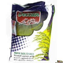 Deccan Brown Sona Masoori Rice - 20 lb