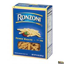 Ronzoni Penne Rigate - 16 Oz