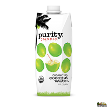 Purity 100% Raw Organic Coconut Water, 17oz