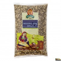Green Moong Dal Split (chilka) - 4 lb