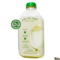 Pure Eiree Organic Cream On Top whole milk - 1/2 Gal