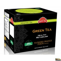 Quik Tea - Organic Green Tea 3.52 Oz