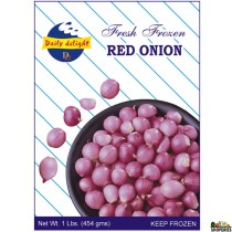 Daily Delight Frozen red onion  (1 lb)