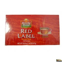 Brooke bond Red Label Tea 100 Bags 200 gms