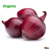 Organic Red Medium Onion - 2 lb