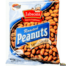 Jabson Roasted Salted Peanuts 160g (2 Count)