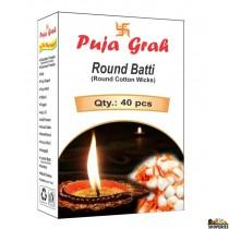 Puja Round Batti