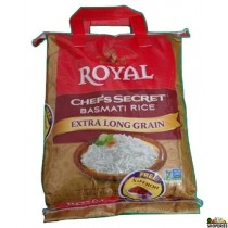 Royal Chef xlong Basmati Rice - 20 lb