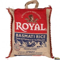 Royal Basmati Rice - 20 lb
