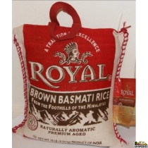 Royal Brown Basmati Rice - 10 lb