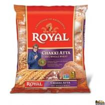 Royal whole wheat chakki Atta - 20 lb