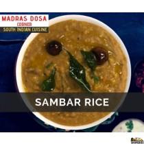 Madras Dosa Corner Sambar Rice
