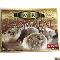 Savera Rasmalai (12 Pieces) - 850g