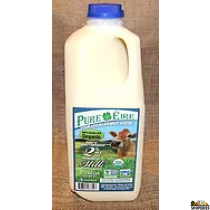 Pure Eiree Grass Fed VAT Pasturized 2% Milk 1/2 Gal (Pre-order)