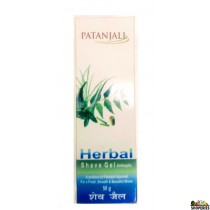 Patanjali Herbal Shaving Gel  - 50 mg