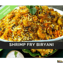 Hyderabad House Shrimp Fry Biryani