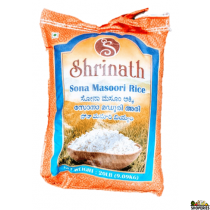 Shrinath Sona Masoori Rice - 20 lb