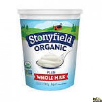 Stoney field organic yogurt