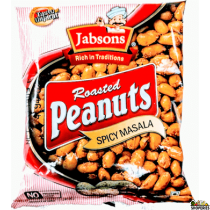 Jabson Spicy Masala Peanuts 140g (2 Count)