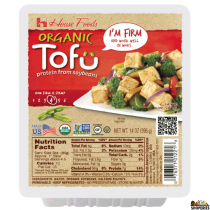 HouseFoods Organic Firm Tofu - 14 Oz