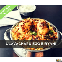 Hyderabad House Ulavacharu Egg Biryani
