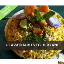 Hyderabad House Ulavacharu Veg Biryani