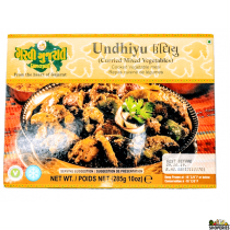 Garvi Gujarati Frozen Undhiyu (Curried Mixed Vegies) - 300 Gms