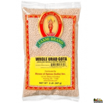 Urad Whole Gotta - 8 LB