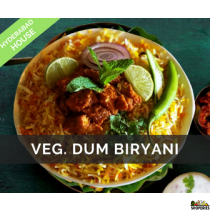 Hyderabad House Veg Dum Biryani