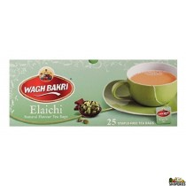 WaghBakri Cardamom Tea Bags - 25 bags