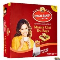 WaghBakri Masala Chai Tea Bags - 200 g