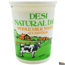 Desi Natural Dahi Whole Milk Yogurt - 2 lb