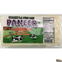 Homestyle Pure Desi Paneer LOW FAT - 12oz