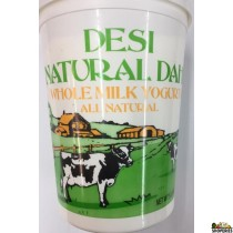 Desi Natural Dahi Whole Milk Yogurt - 5lb