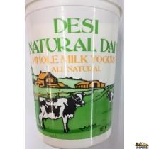 Desi Natural Dahi Whole Milk Yogurt - 5 lb