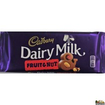 Cadbury Fruit and nut Chocolate bar - 110gm