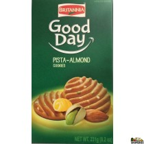 Britannia Good Day Pista Almond Biscuits - 231g